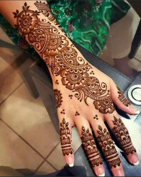 Mehndi Designs You will Totally LOVE! (7)