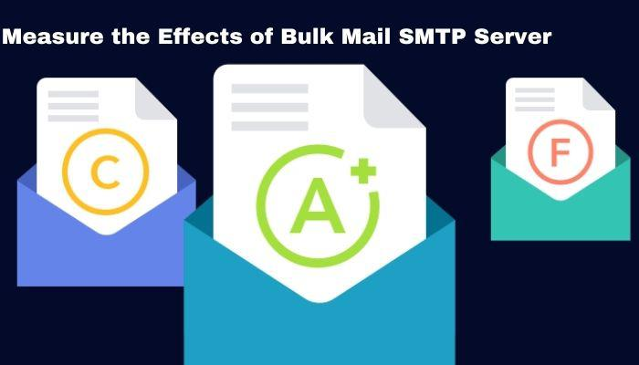 How to Measure the effects of Bulk Mail SMTP Server