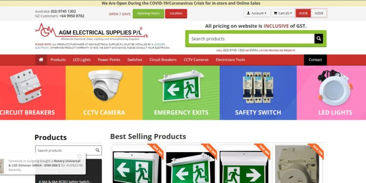 WHY AGM ELECTRICAL SUPPLIES?
