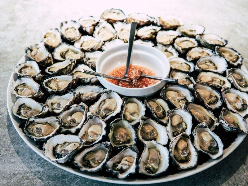 Oysters and Shellfish