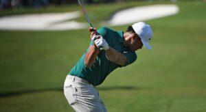 Golf driver backswing