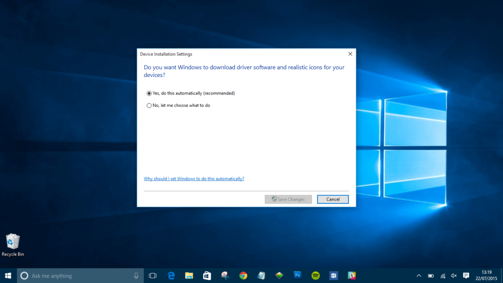 How to update device drivers on Windows