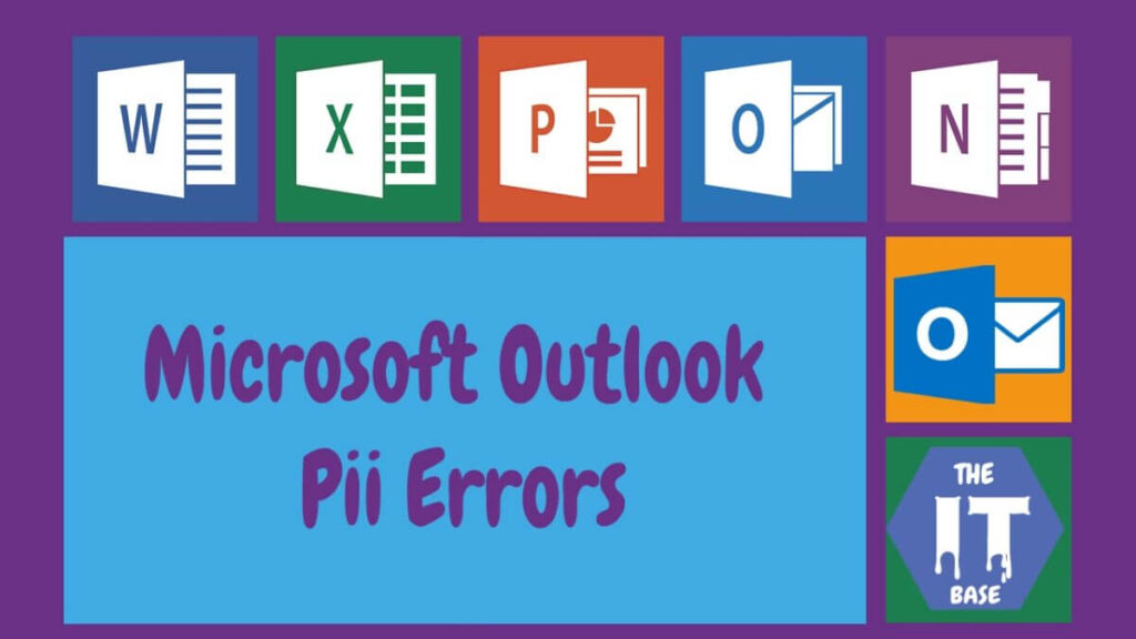 What is the Outlook Error [pii_email_e732d9a5ebee0e8031cf]?
