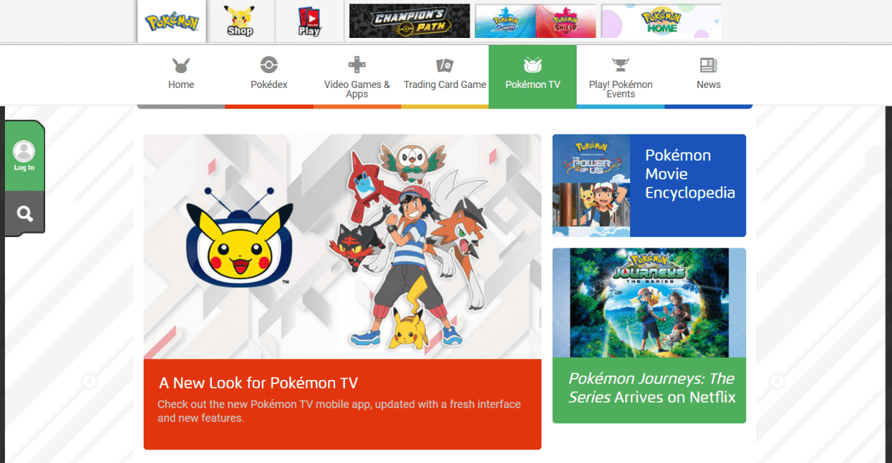 Pokemon com
