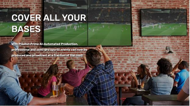 What is the Pixellot Sports Broadcasting Solution