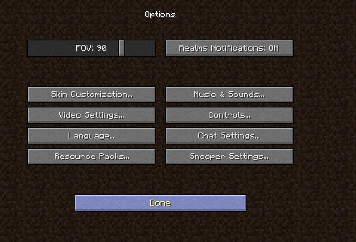 optifine minecraft