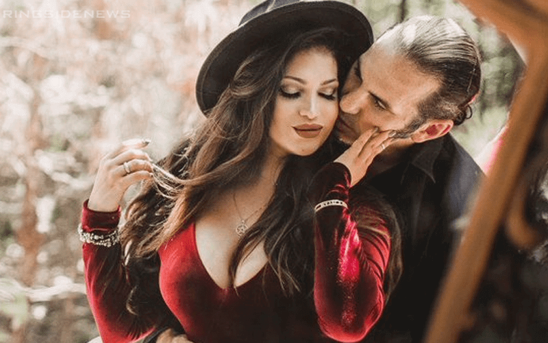 Does Reby Sky and Matt Hardy are waiting for a baby?