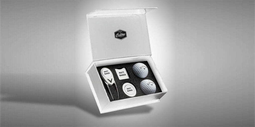A Personalised Golf Gift